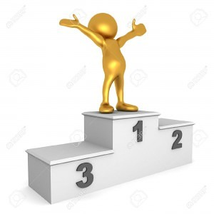 10381549-3D-render-of-a-golden-human-figure-on-top-of-a-podium-celebrating-his-achievement-Stock-Photo